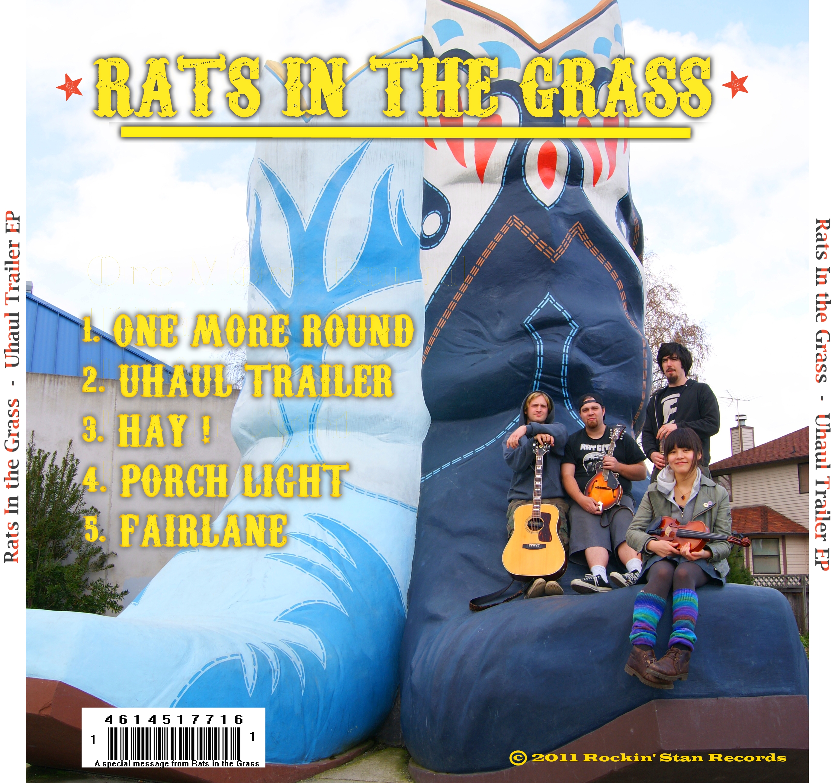 Rats In The Grass - Uhaul Trailer EP