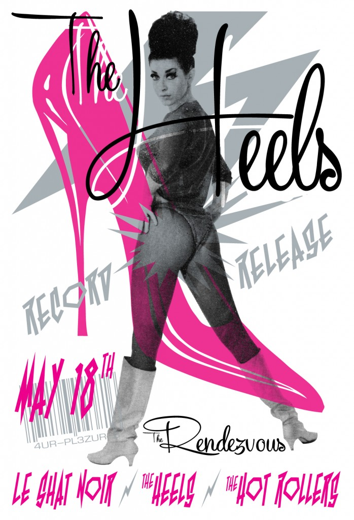 The Heels Release Party Poster